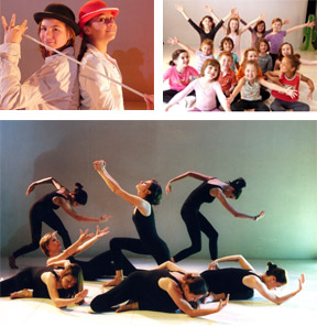 Photos cours de danse